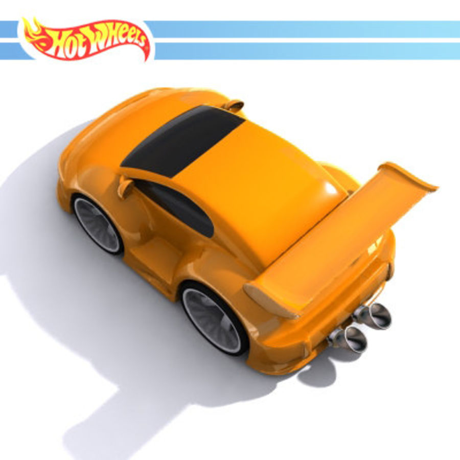 Hotwheel.rar royalty-free 3d model - Preview no. 2