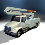 VS02 Bucket Truck1 3d model