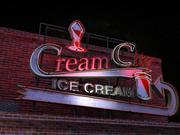 Ice Cream Sign 3d model