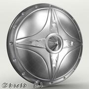 Shield 01 3d model