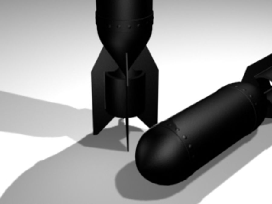 BOMB royalty-free 3d model - Preview no. 2