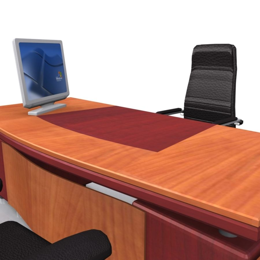 Muebles de oficina royalty-free modelo 3d - Preview no. 5