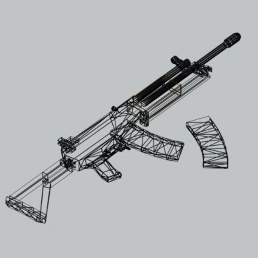 Galil_ARM_3DS.zip royalty-free 3d model - Preview no. 2