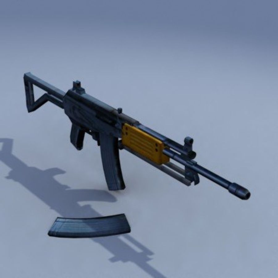 Galil_ARM_3DS.zip royalty-free 3d model - Preview no. 5