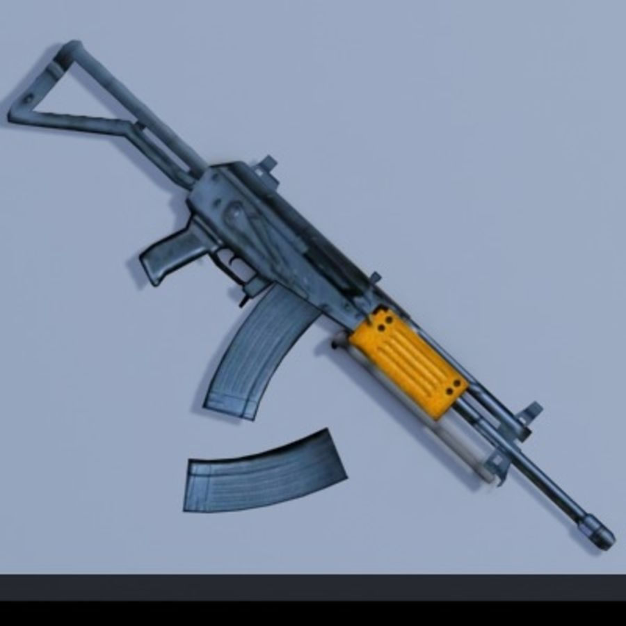 Galil_ARM_3DS.zip royalty-free 3d model - Preview no. 3