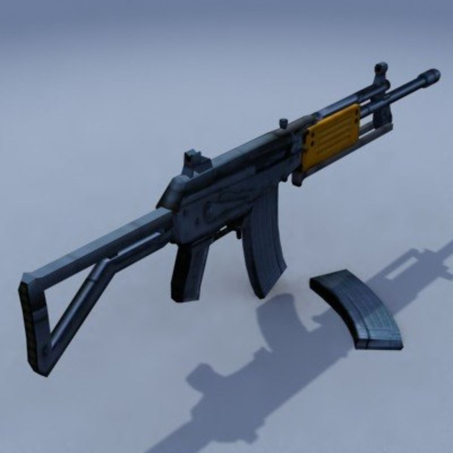 Galil_ARM_3DS.zip royalty-free 3d model - Preview no. 6