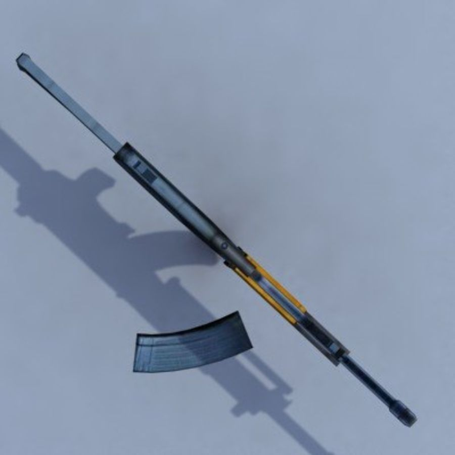 Galil_ARM_3DS.zip royalty-free 3d model - Preview no. 4