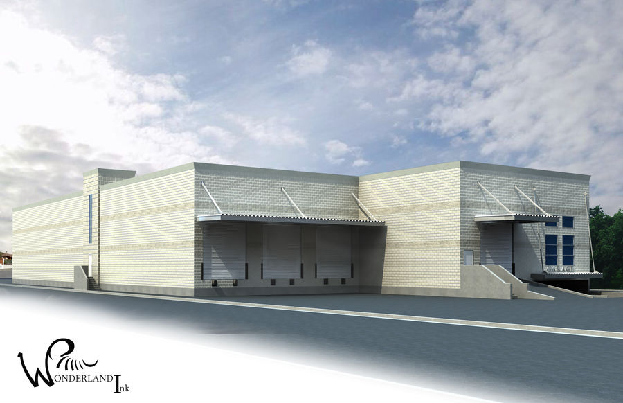 Architectural Exterior 3 royalty-free 3d model - Preview no. 1