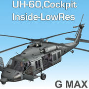 Blackhawk_Inside_Cockpit_GMAX 3d model