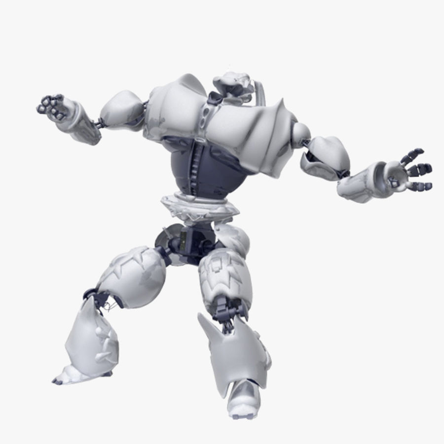 Robot Bot Rigged royalty-free 3d model - Preview no. 1