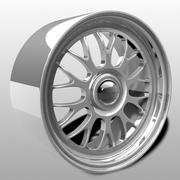 Imitation BBS LM Rims 3d model