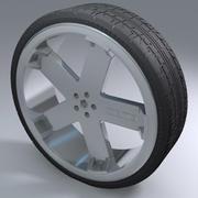 莫莫运动轮 3d model