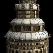 Wieża fantazji 5 3d model