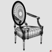 Chair old fashioned012_max.ZIP 3d model