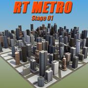 RT Metropolis St01 3d model
