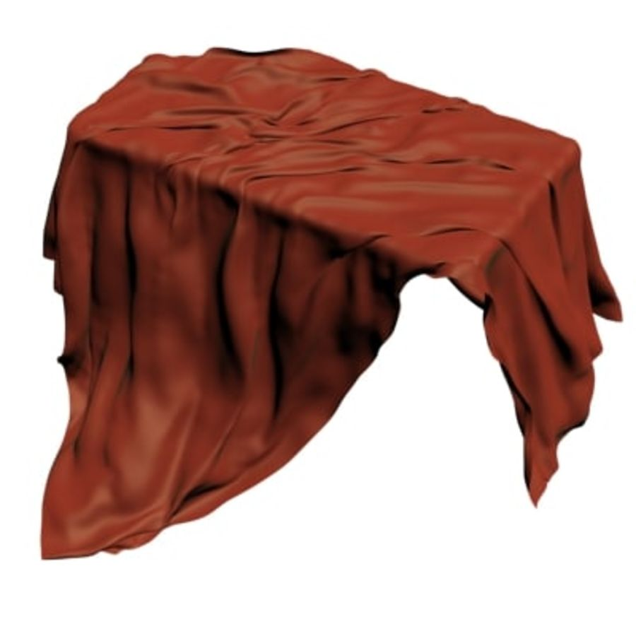 Cloth cover royalty-free 3d model - Preview no. 1
