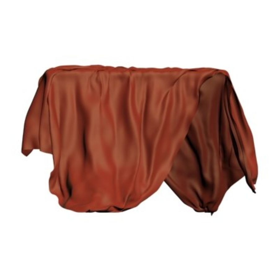 Cloth cover royalty-free 3d model - Preview no. 5