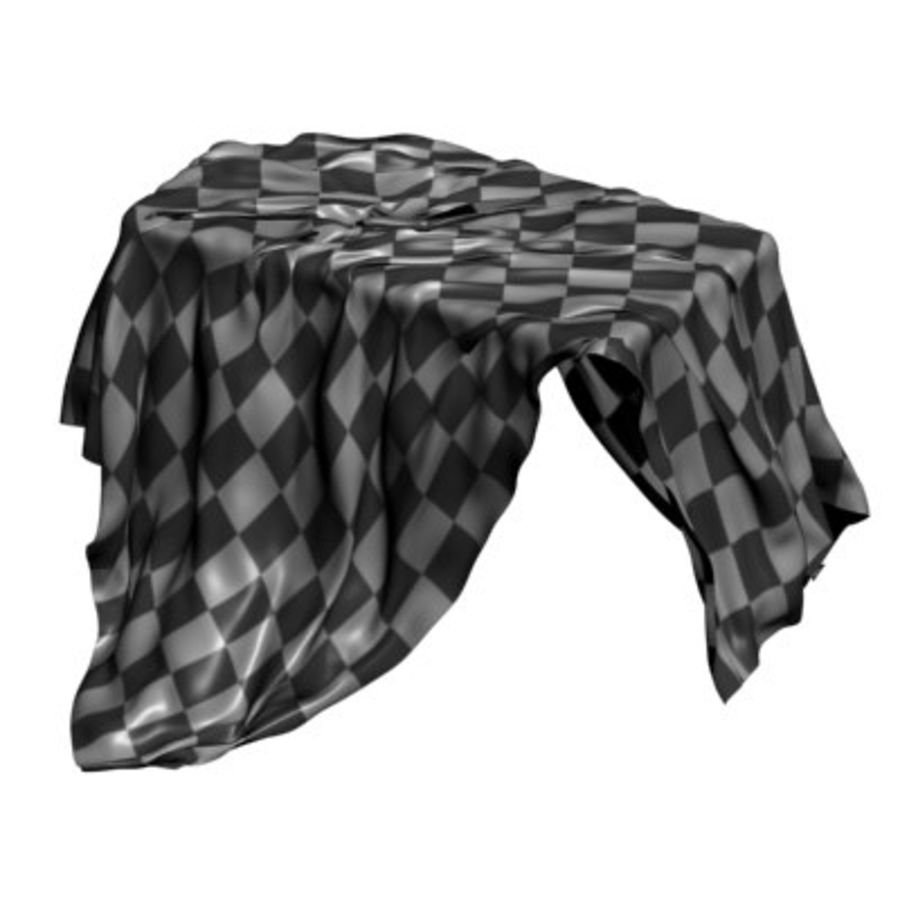 Cloth cover royalty-free 3d model - Preview no. 2