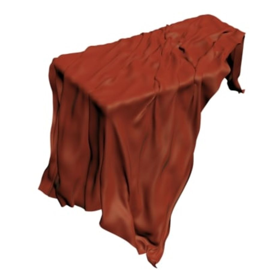 Cloth cover royalty-free 3d model - Preview no. 3