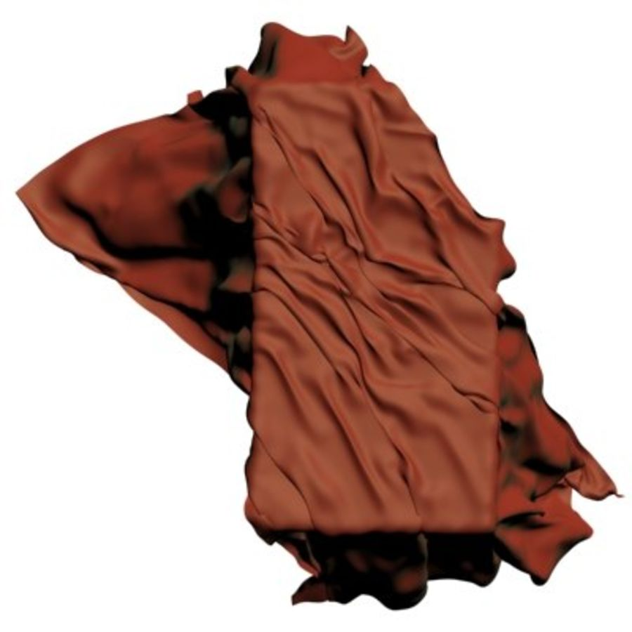 Cloth cover royalty-free 3d model - Preview no. 4