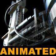 Robot Arm (updated) 3d model