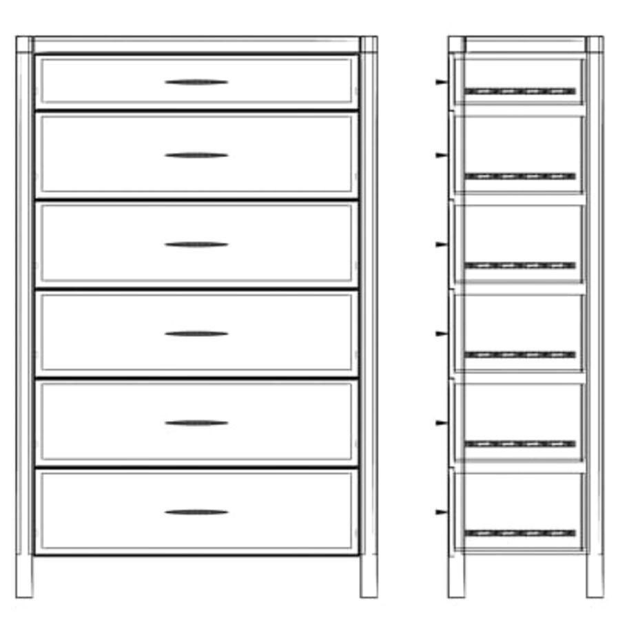 Collection de meubles royalty-free 3d model - Preview no. 7