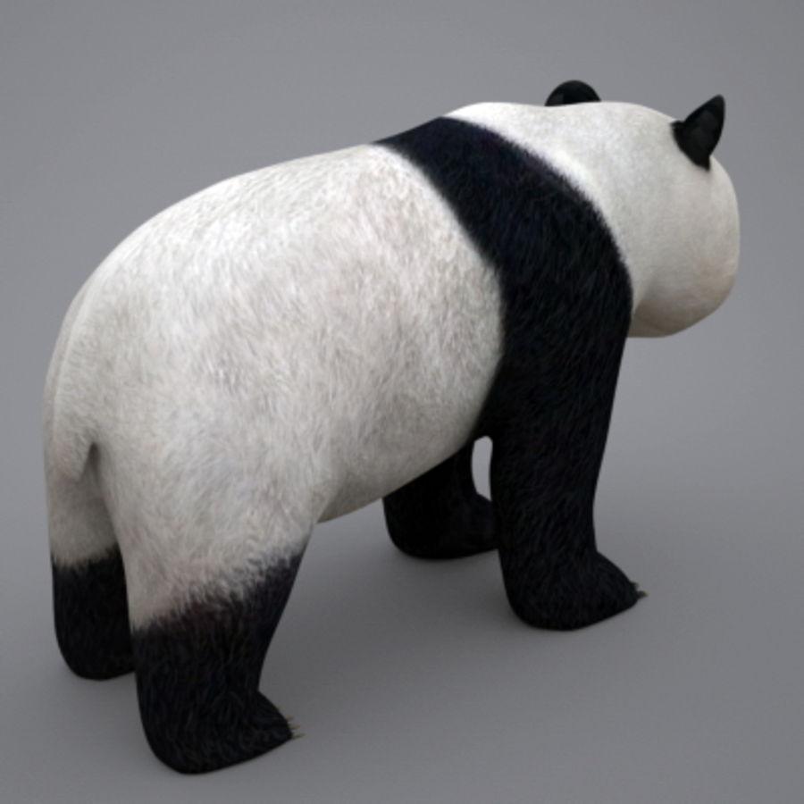 Panda.zip royalty-free 3d model - Preview no. 6