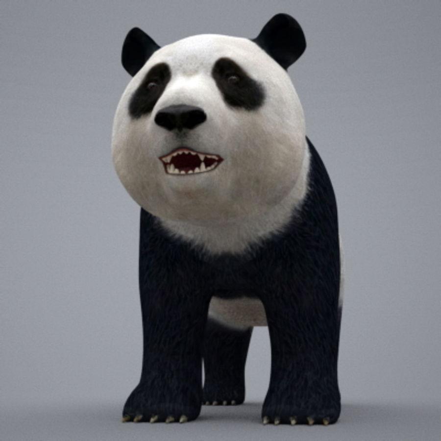 Panda.zip royalty-free 3d model - Preview no. 4