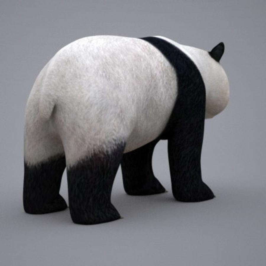 Panda.zip royalty-free 3d model - Preview no. 5