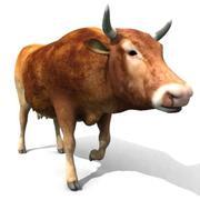 牛モデル 3d model