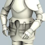 Armor inga material 3d model