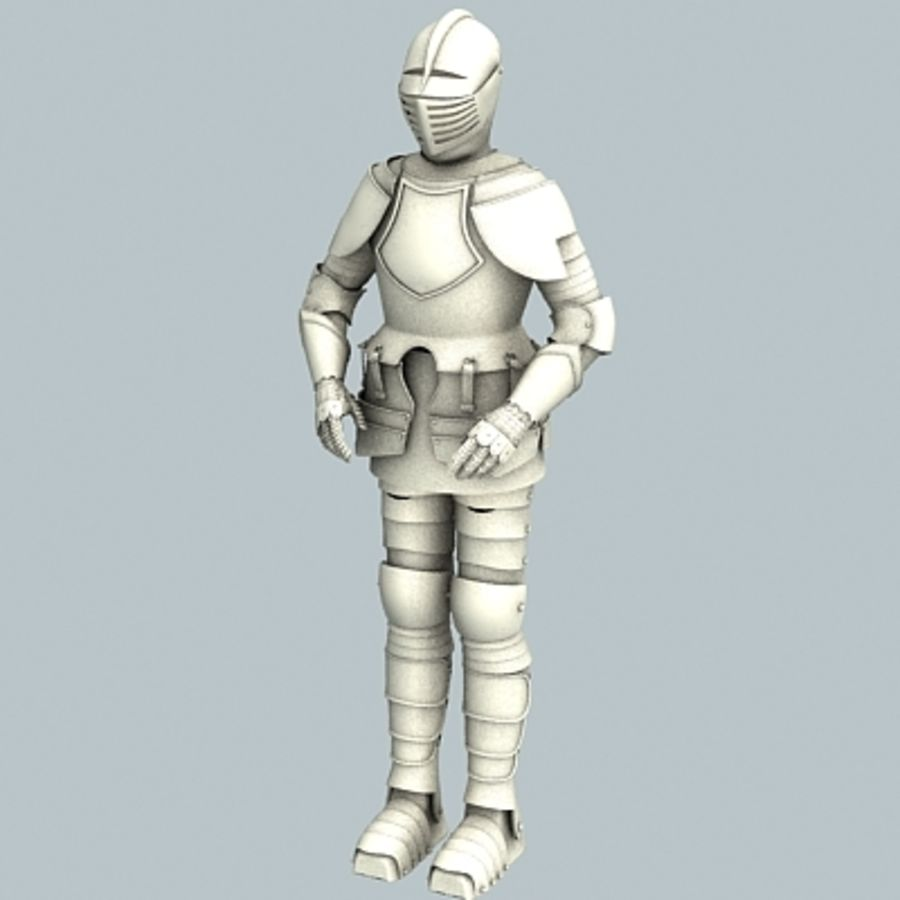 Armadura sem materiais royalty-free 3d model - Preview no. 2