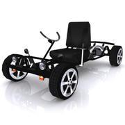 Street Go Cart 3d model
