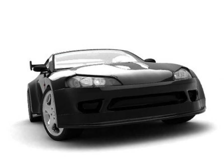 Generic car royalty-free 3d model - Preview no. 6