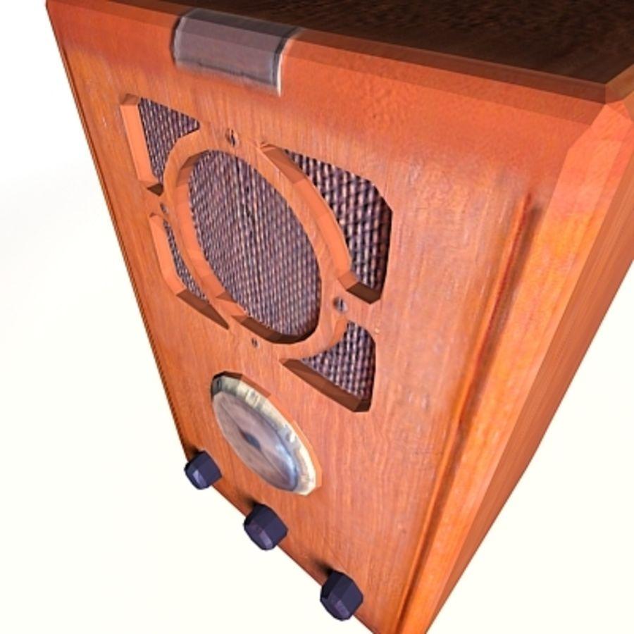 RADIO VIEJA EN TIEMPO REAL royalty-free modelo 3d - Preview no. 14