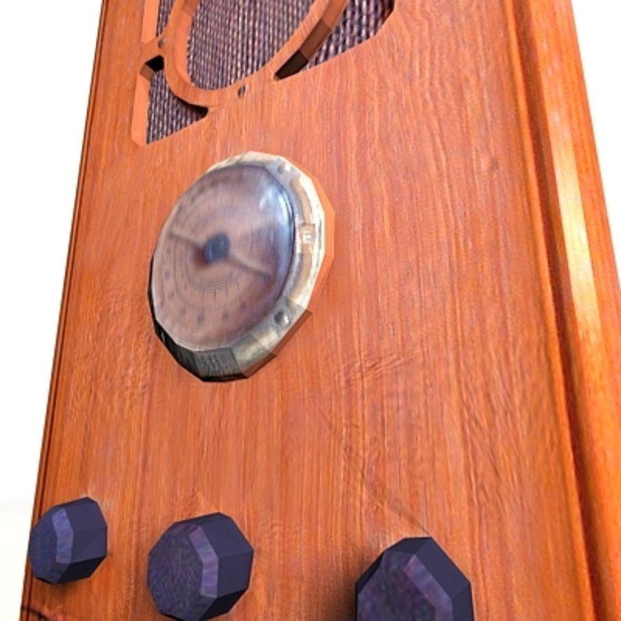 RADIO VIEJA EN TIEMPO REAL royalty-free modelo 3d - Preview no. 15