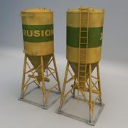 CementMixer01 3d model