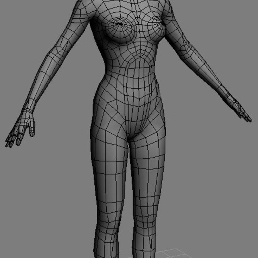 FemaleBaseMesh.max royalty-free 3d model - Preview no. 1