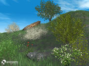 XfrogPlants Billboards: Shrubs 3d model