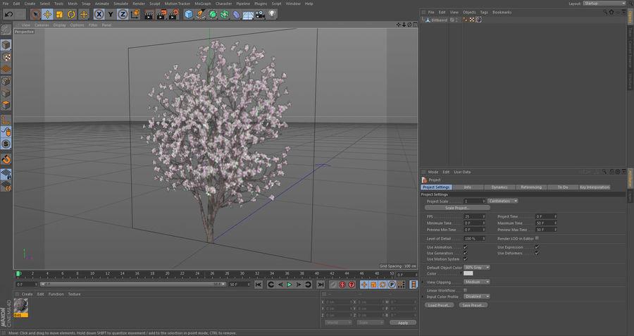 XfrogPlantsビルボード:日本 royalty-free 3d model - Preview no. 5