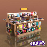 Furniture-Book Table 002 3d model