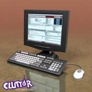 Electronics-Info Computer Station 001 3d model