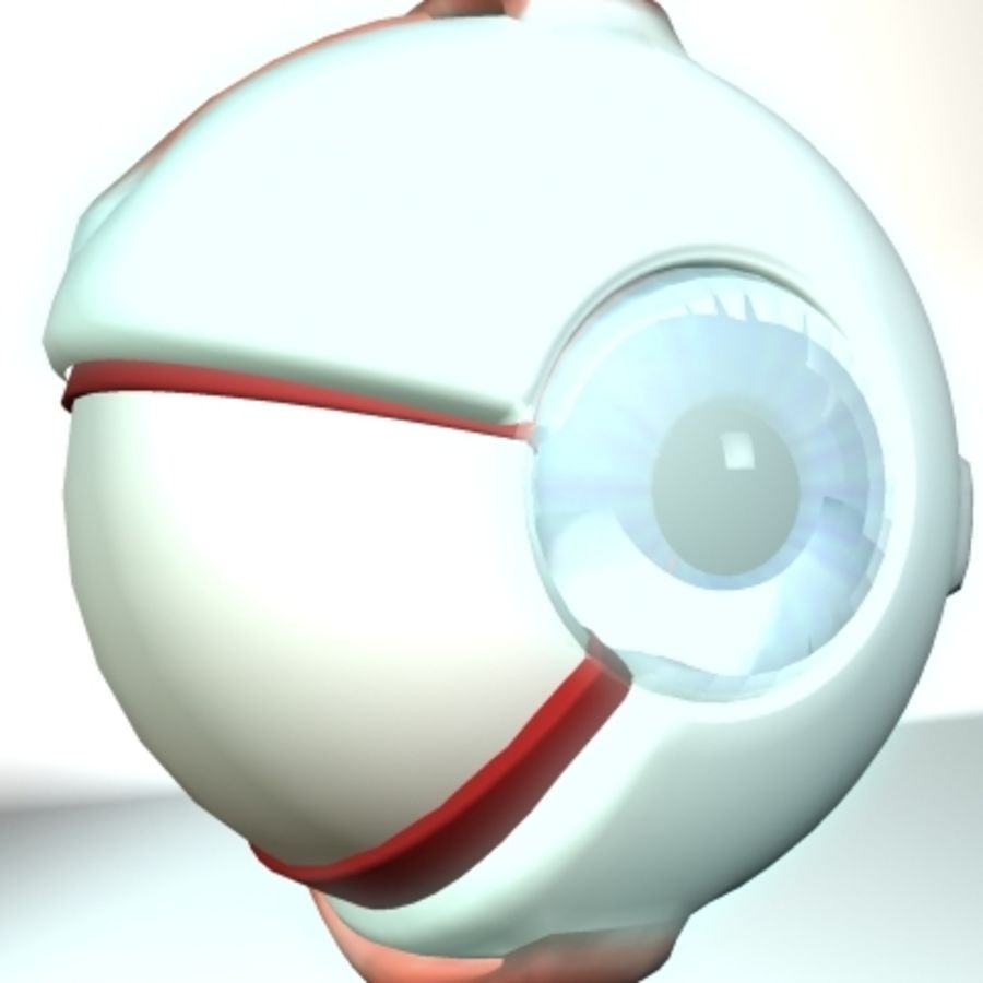 eye.zip royalty-free 3d model - Preview no. 1