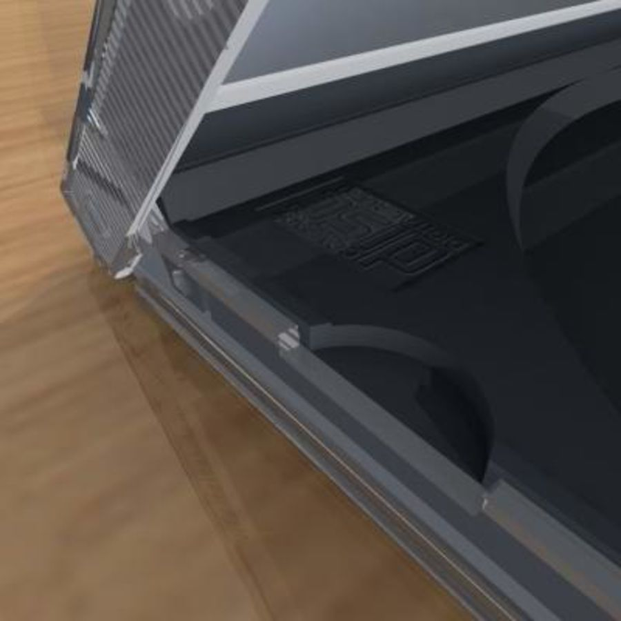 CD Case royalty-free 3d model - Preview no. 4