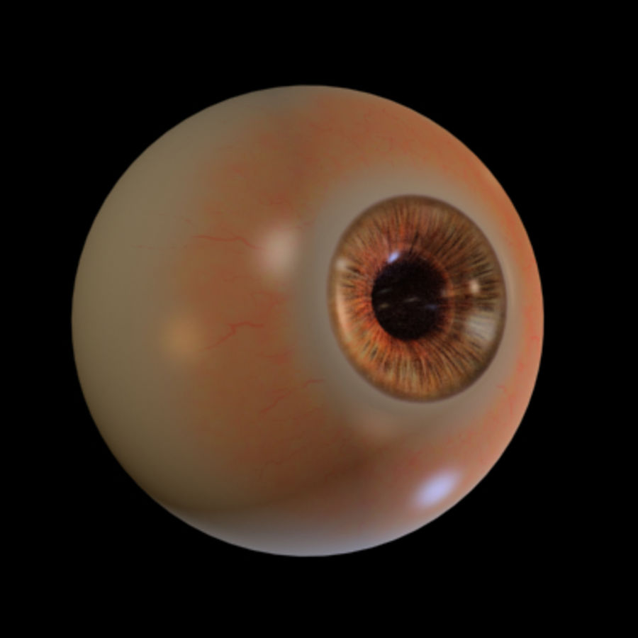 eye royalty-free 3d model - Preview no. 1