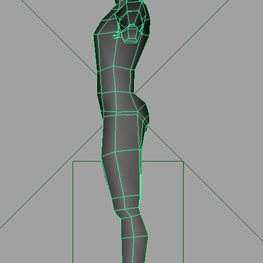 Human_base_mesh.ma royalty-free 3d model - Preview no. 3