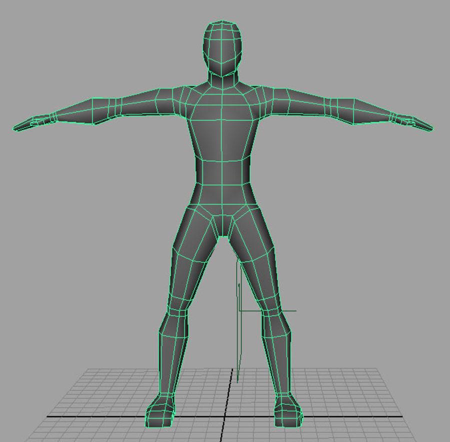 Human_base_mesh.ma royalty-free 3d model - Preview no. 2