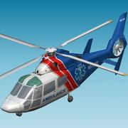 DAUPHIN Air Ambulance 3d model