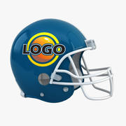 Casco da football Riddell 3d model