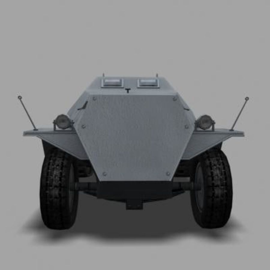 sdkfz250.zip royalty-free 3d model - Preview no. 2